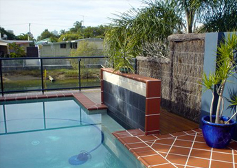 Landscaping, Pools and <br> Rockwalls